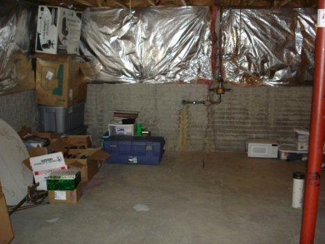 basement after example