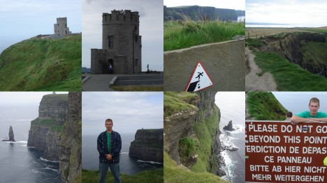Highlights from the Cliffs of Moher