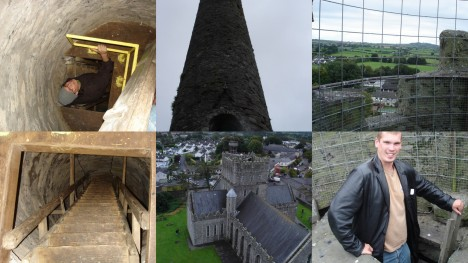 Climbing the Round Tower